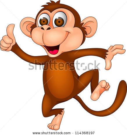 Monkey Cartoon Stock Images, Royalty.