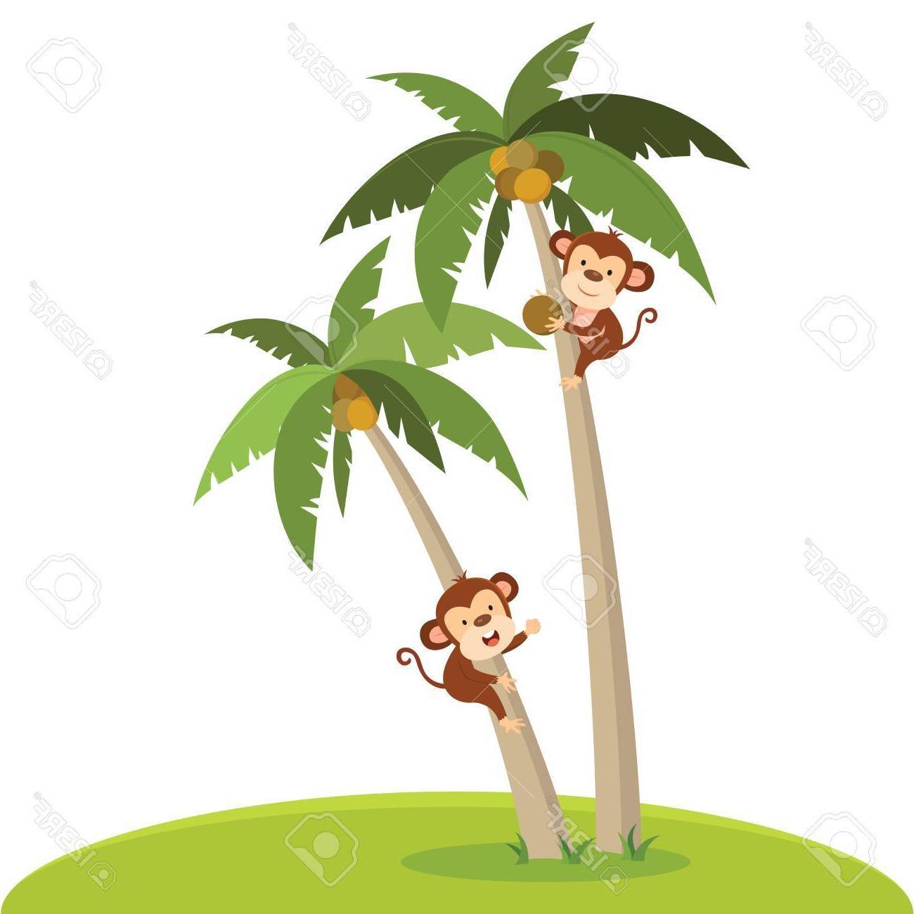 Best Free Monkey In Tree Clip Art Cdr » Free Vector Art.