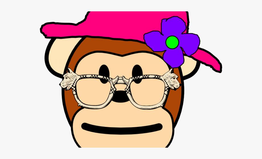 Monkey Clipart Grandma.