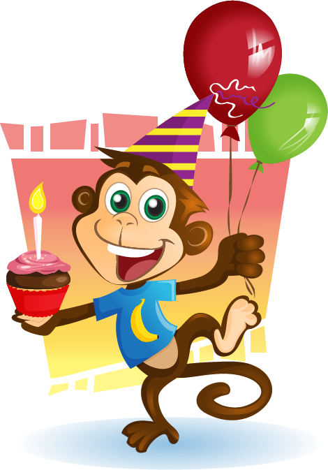 Free Party Monkey Cliparts, Download Free Clip Art, Free.