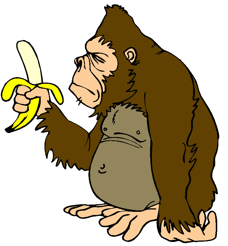 Monkey Clip Art Birthday.