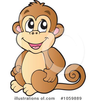 Monkey Clipart #1059889.
