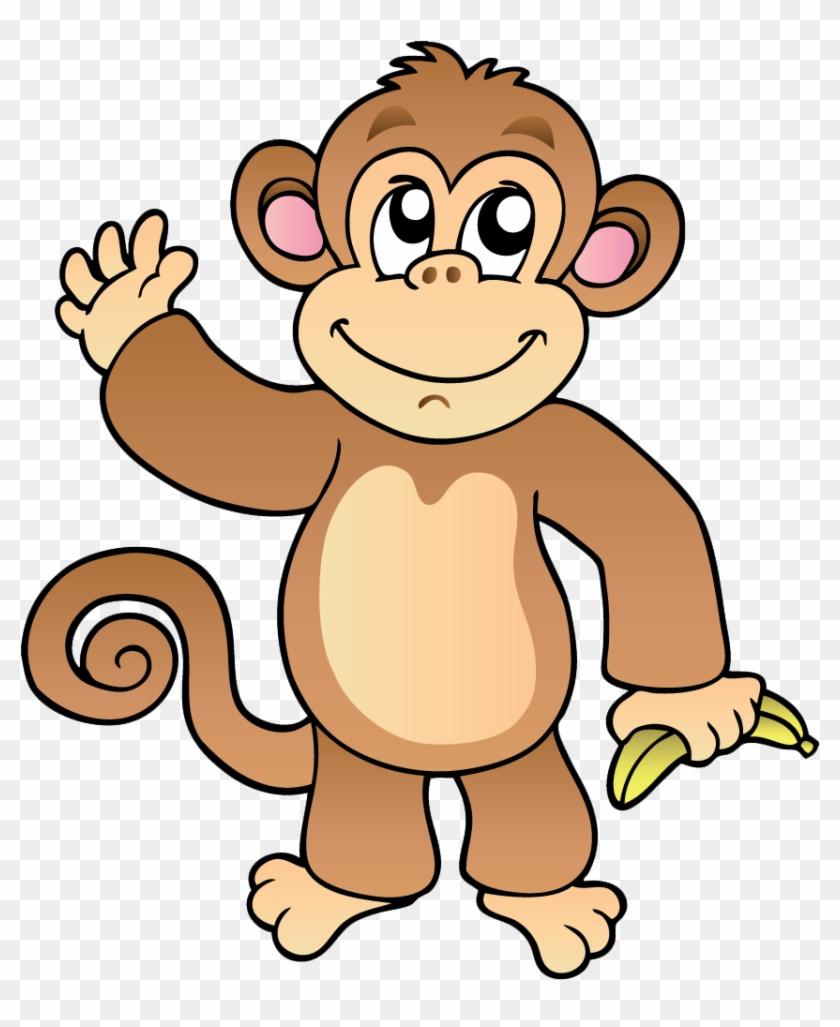 Girl Clipart Monkey.