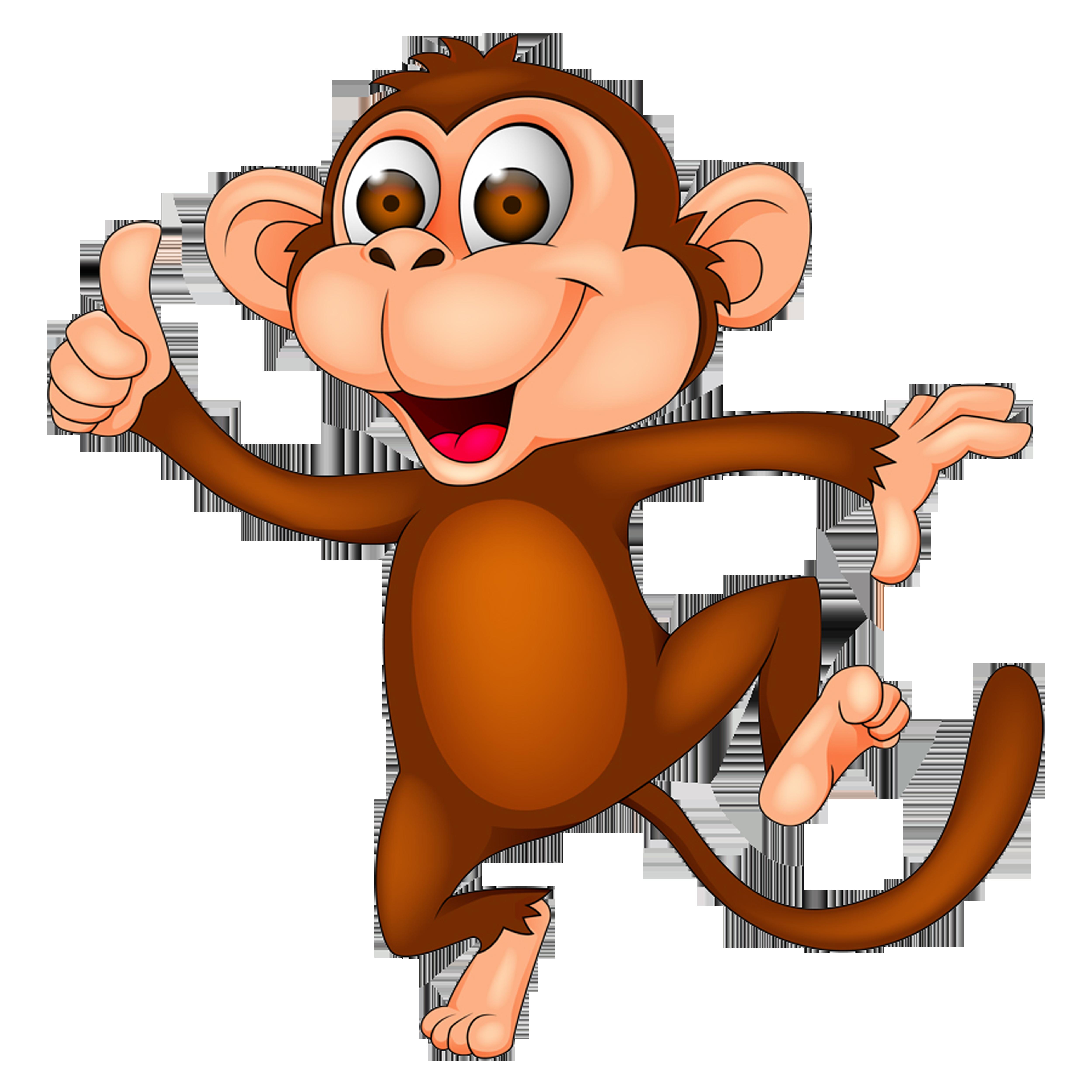 Monkey Cartoon Clip art.