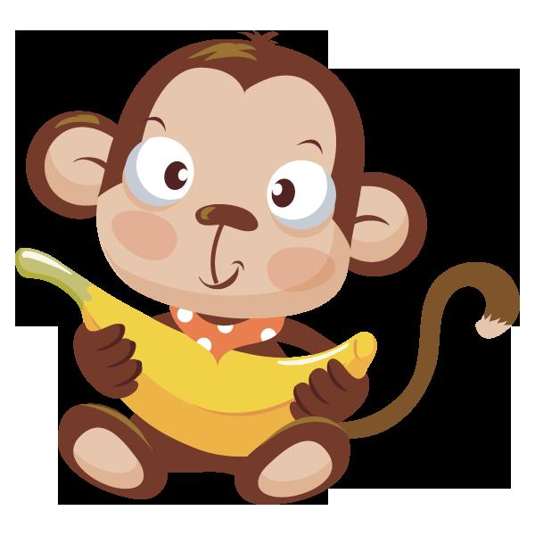 Fat Monkey Cliparts.