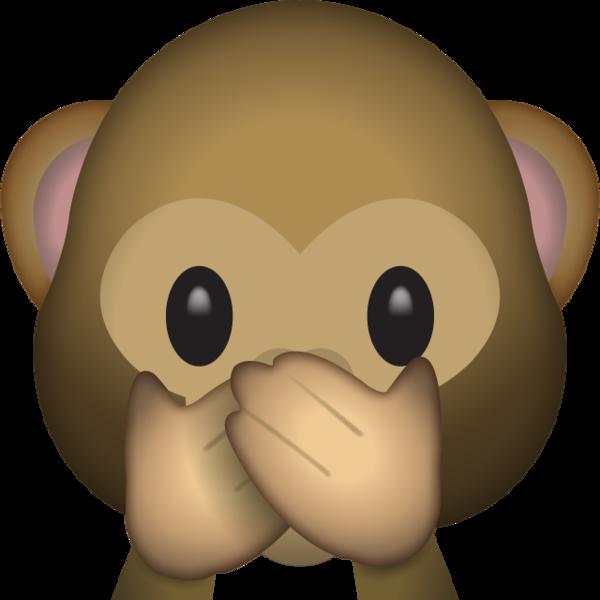 Download Speak No Evil Monkey Emoji.