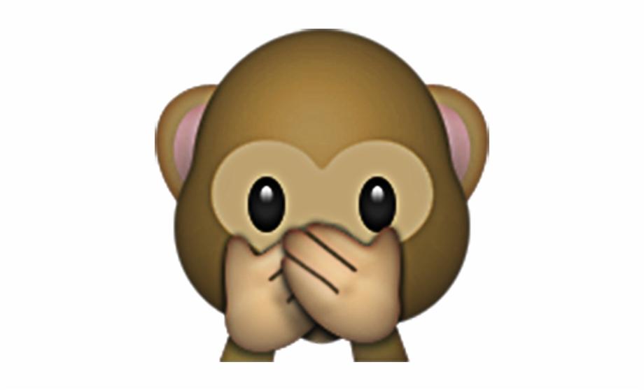 Monkey Emoji With Flower Crown Png.