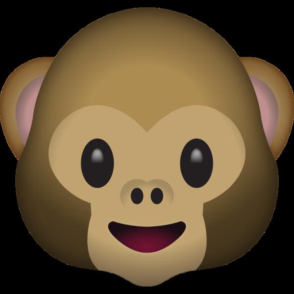 Monkey Face Emoji.
