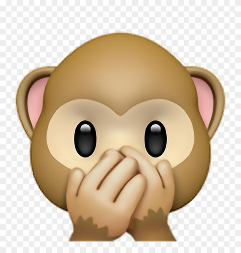 Monkey Sticker.