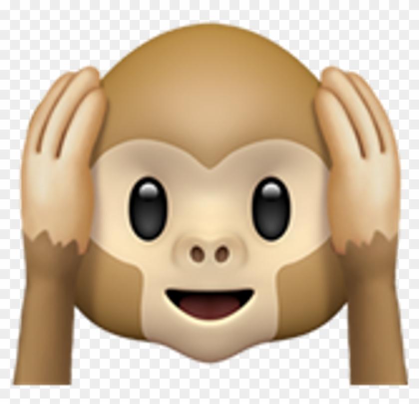 Monkey Whatsapp Emoji Ios Whatsappemoji Iosemoji Emojis.