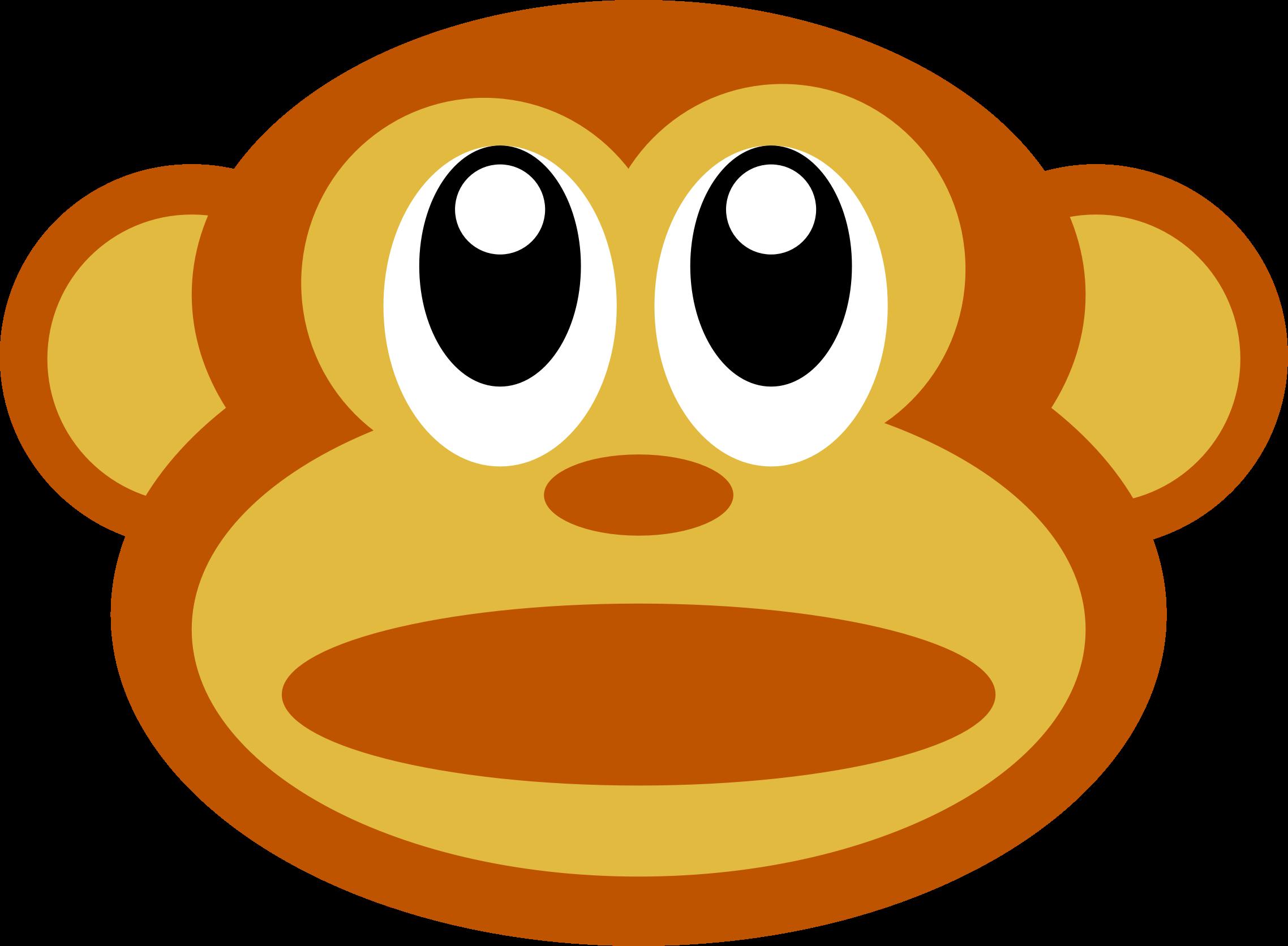 clipart monkey face - photo #43