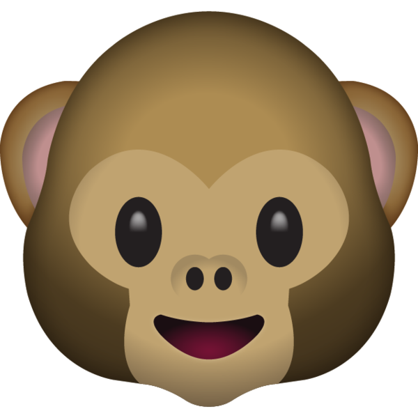 Monkey Face Emoji.