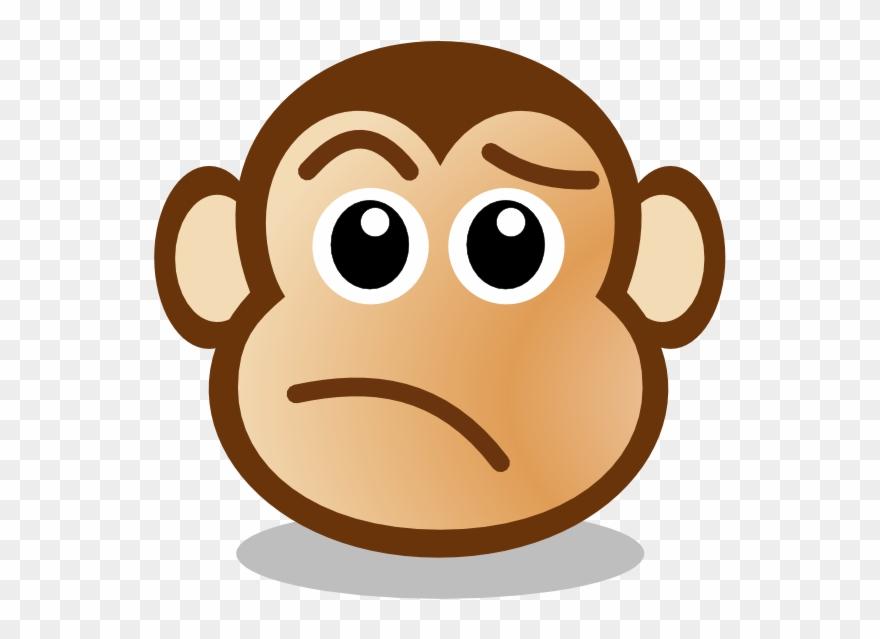Monkey Face Clip Art.