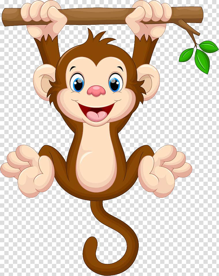 Monkey wallapaper, Drawing, monkey transparent background.