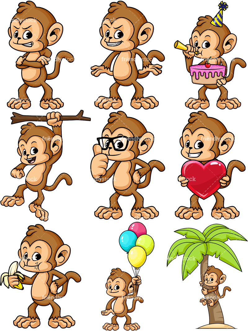 Monkey Character Collection #1.