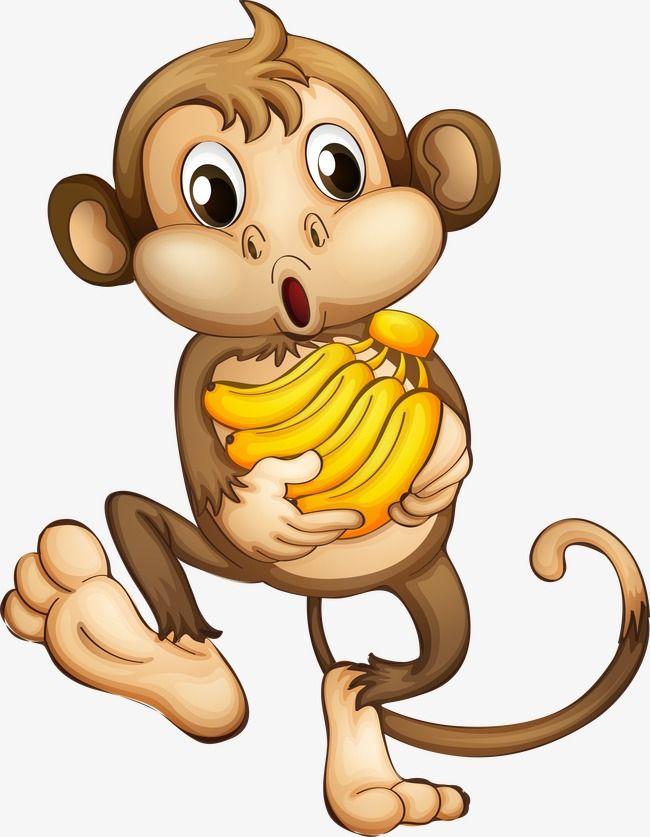 Cartoon Monkey, Monkey Clipart, Cartoon Clipart, Cartoon PNG.