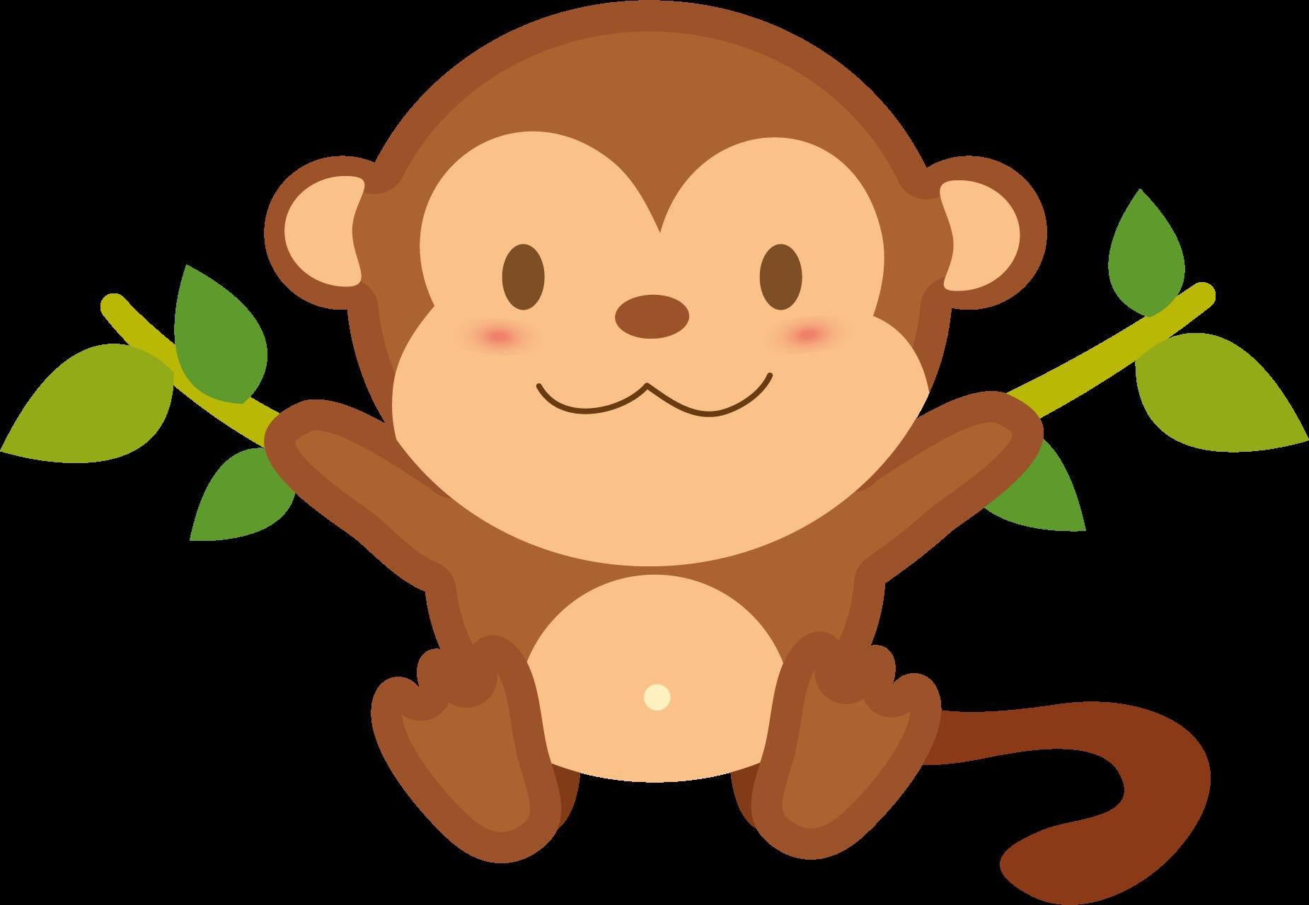 Monkey Transparent PNG.