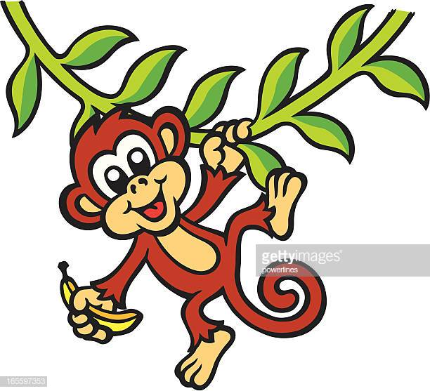30 Top Monkey Swing Stock Illustrations, Clip art, Cartoons.
