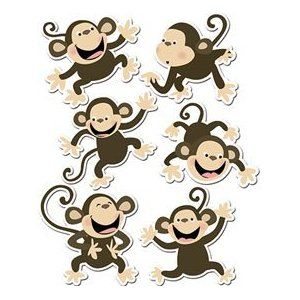 520 best images about 1 Monkey theme on Pinterest.