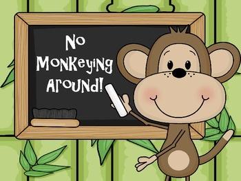Monkey Theme Classroom Clipart Clipground