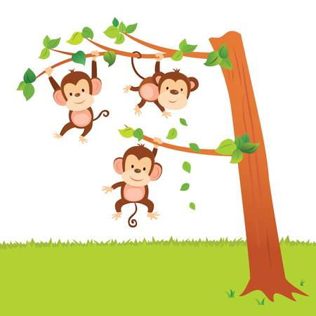 Monkey In Tree Clipart (85+ images in Collection) Page 2.
