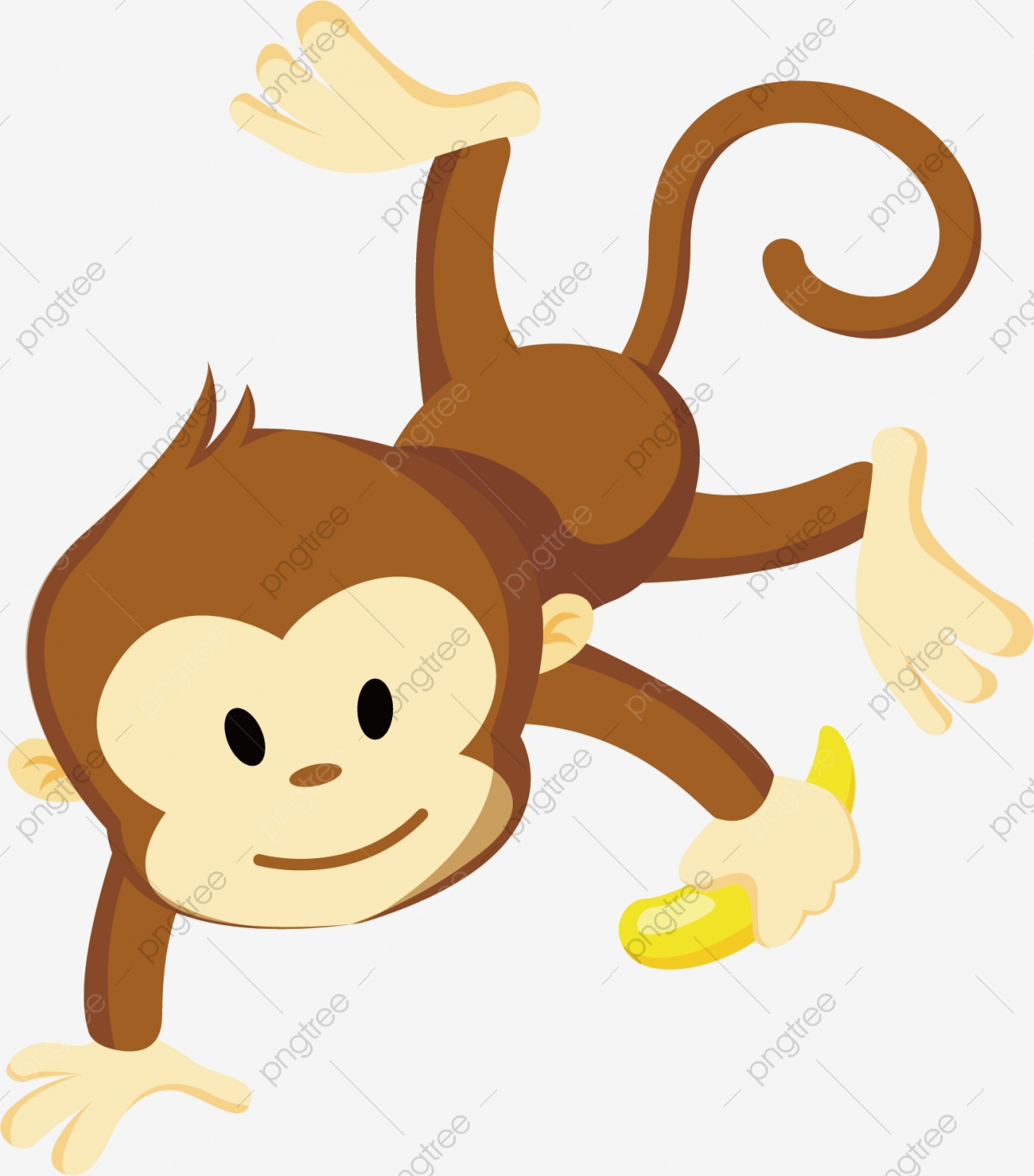 Monkey Vector, Monkey Clipart, Monkey PNG and Vector with.