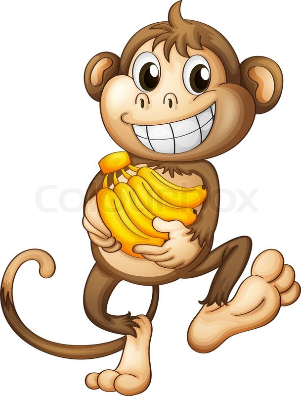 Happy Eating Fruit Clipart.