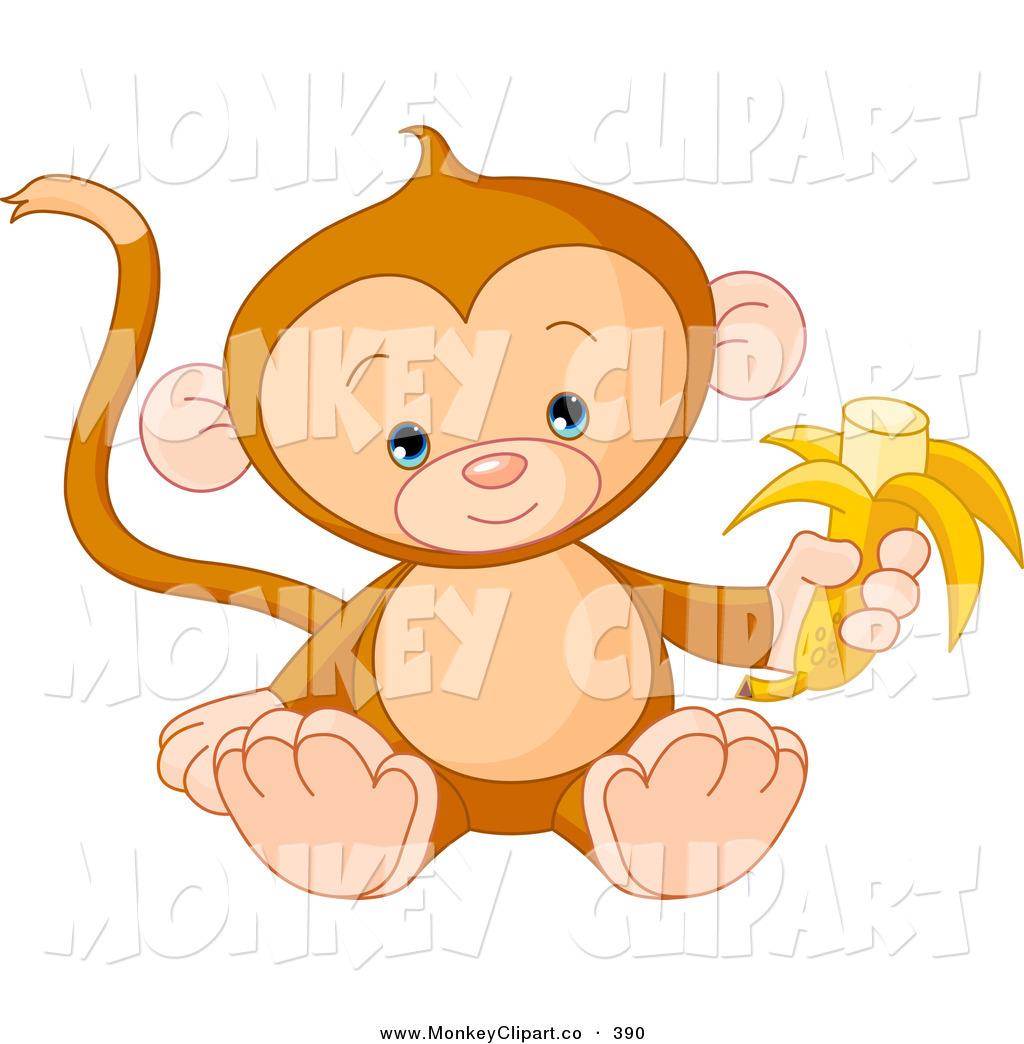 Royalty Free Banana Stock Monkey Designs.