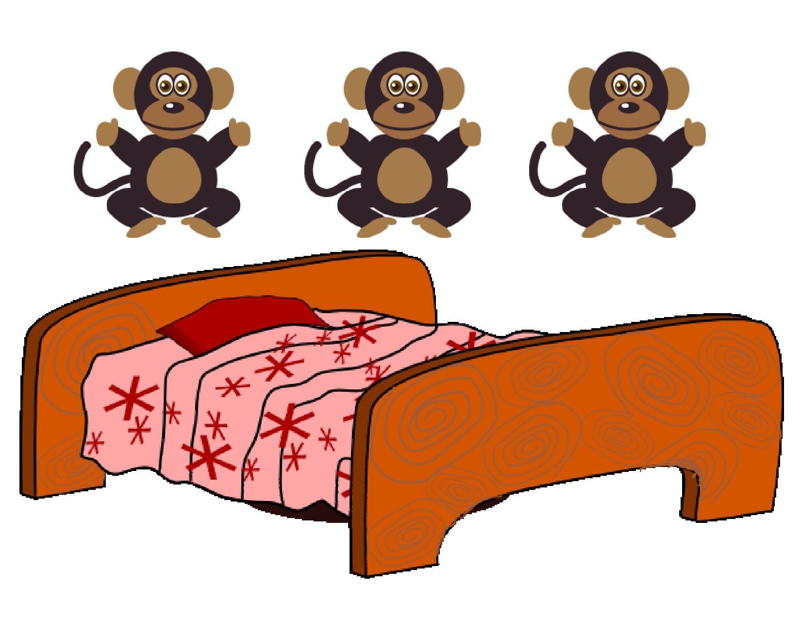 Five Little Monkeys Jumping on a Bed is a favorite.