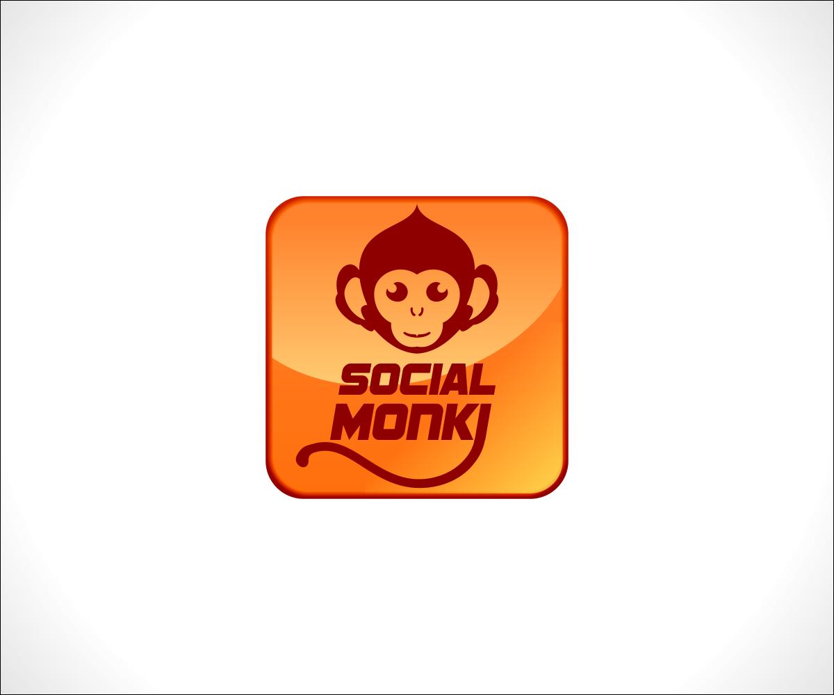 Modern, Elegant, Social Logo Design for Social Monki by.