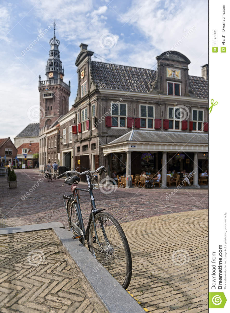 Monnickendam Netherlands Stock Photography.