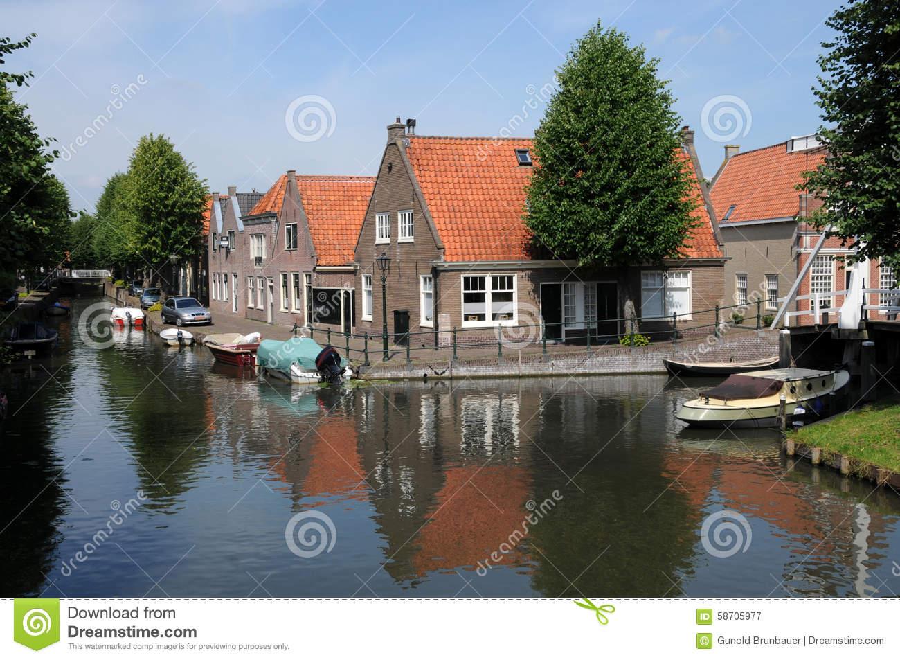 Monnickendam Stock Photo.