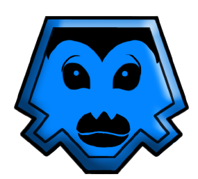 El Sello del Mono Azul.