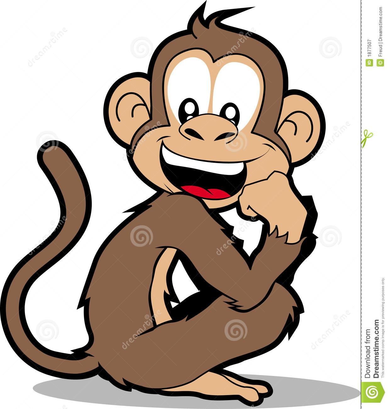 Monkey Stock Illustrations.
