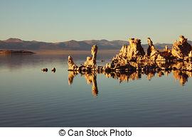 Stock Photos of Mono Lake.