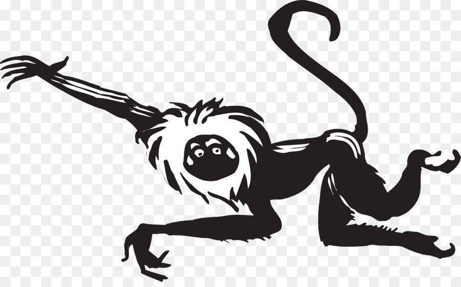 Monkey Cartoon.