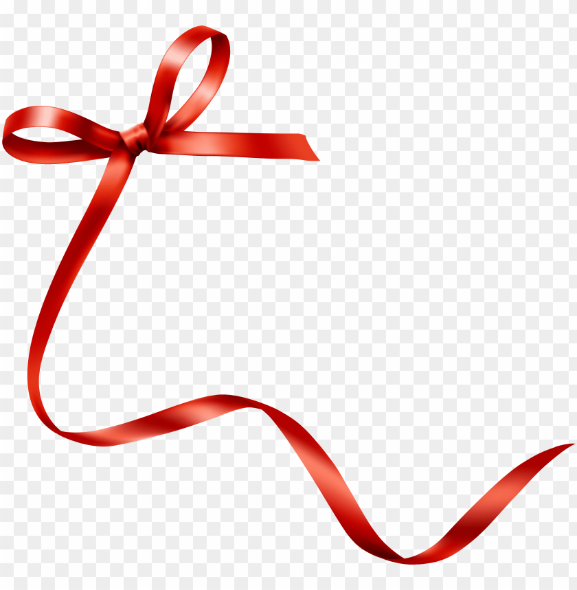 ribbon hand red bow tie transprent png.