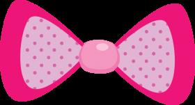 Download moño rosa png.