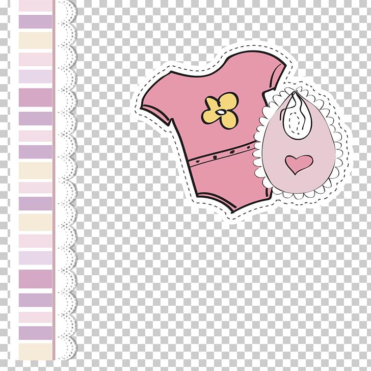 Pegatina rosa mono, ropa infantil ropa infantil, ropa rosa.