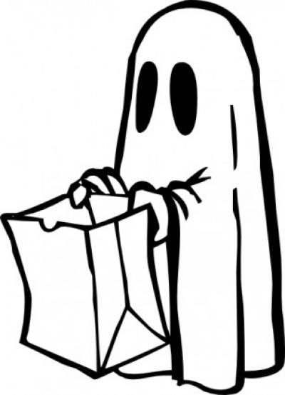 Halloween Bat Clipart Black And White.