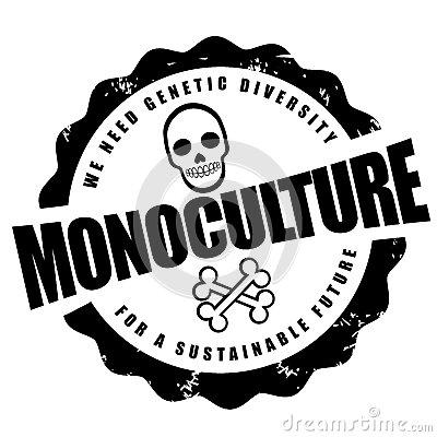 Monoculture Stock Illustrations.