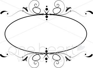 Clipart Monogram Circle.