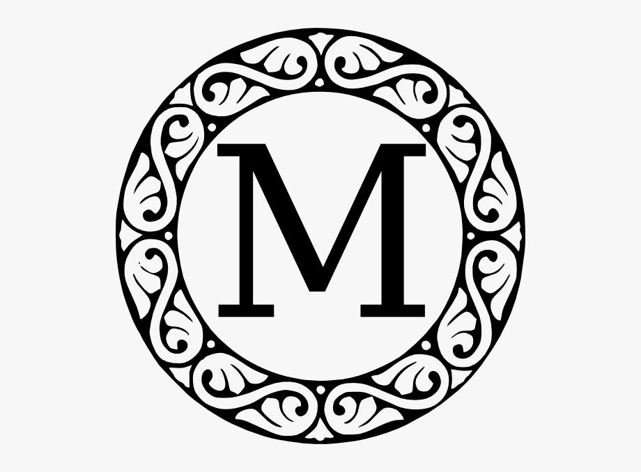 Letter O Monogram Clipart #1621548.