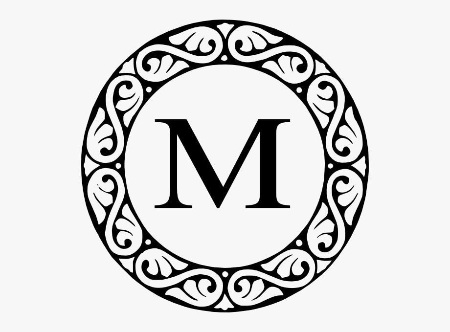 M Black Scroll Svg Clip Arts 588 X 599 Px.