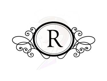 Wedding Monogram Clipart.