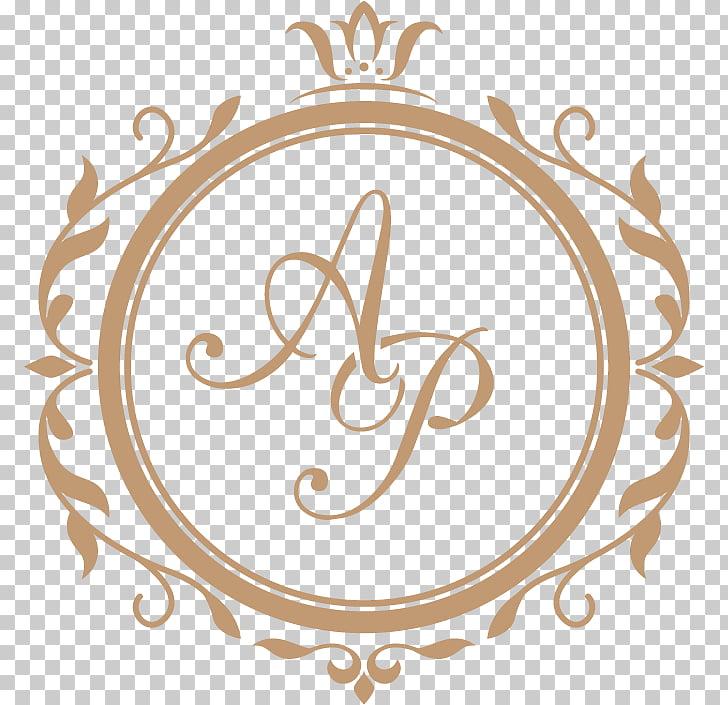 Monogram Wedding Letter Floral design, design, AP logo PNG.