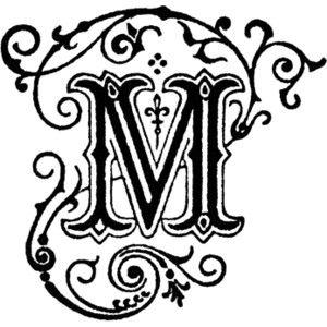 Letter M Clipart.
