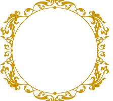 Monogramas dourado png » PNG Image.