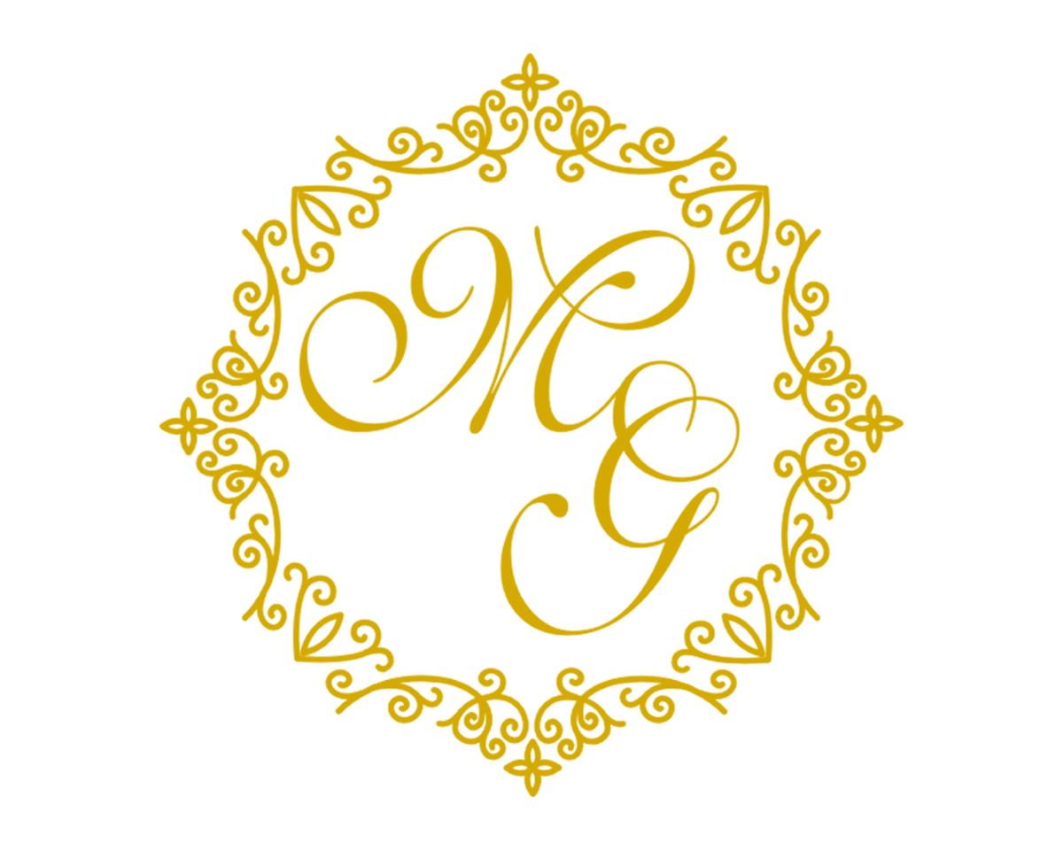 Monograma Dourado Arte.