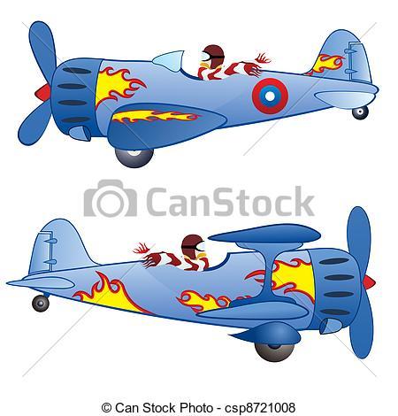 Monoplane Vector Clipart EPS Images. 47 Monoplane clip art vector.